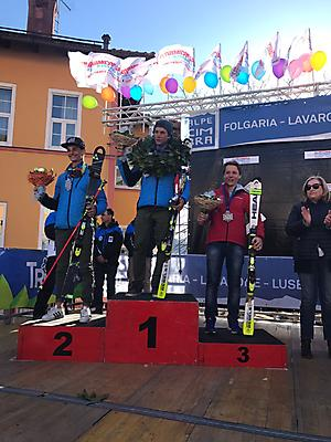 podio_GS All. M_Alpe Cimbra FIS Children Cup_11_03_2017_2