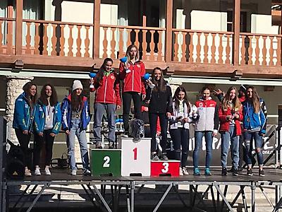 podio_Super-G_C.R. Allievi_F_Alagna_14_03_2017_1