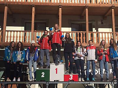 podio_Super-G_C.R. Allievi_F_Alagna_14_03_2017_2