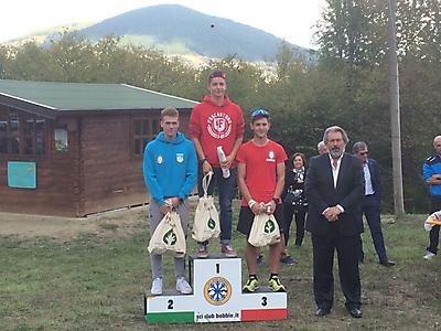 podio_Allievi_M_Camp. It. skiroll_salita tc_Bobbio_24_09_2017