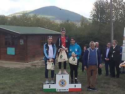 podio_Allievi_F_Camp. It. skiroll_salita tc_Bobbio_24_09_2017