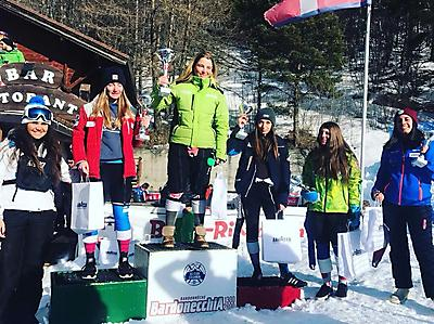 podio_Allievi_F_Super-G_Tr. Colomion_Bardonecchia_14_02_2018