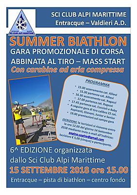 locandina_Summer Biahtlon_Entracque_15_09_2018