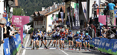 partenza_Mass Start_Mini Tour Rollerski_Ziano Fiemme_15_09_2018