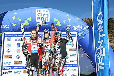 Melissa_Astegiano_3_GS_Allievi_F_Alpe Cimbra FIS Children Cup_12_03_2019_1